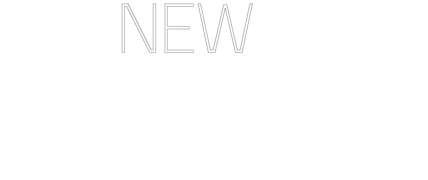 New Food logo white